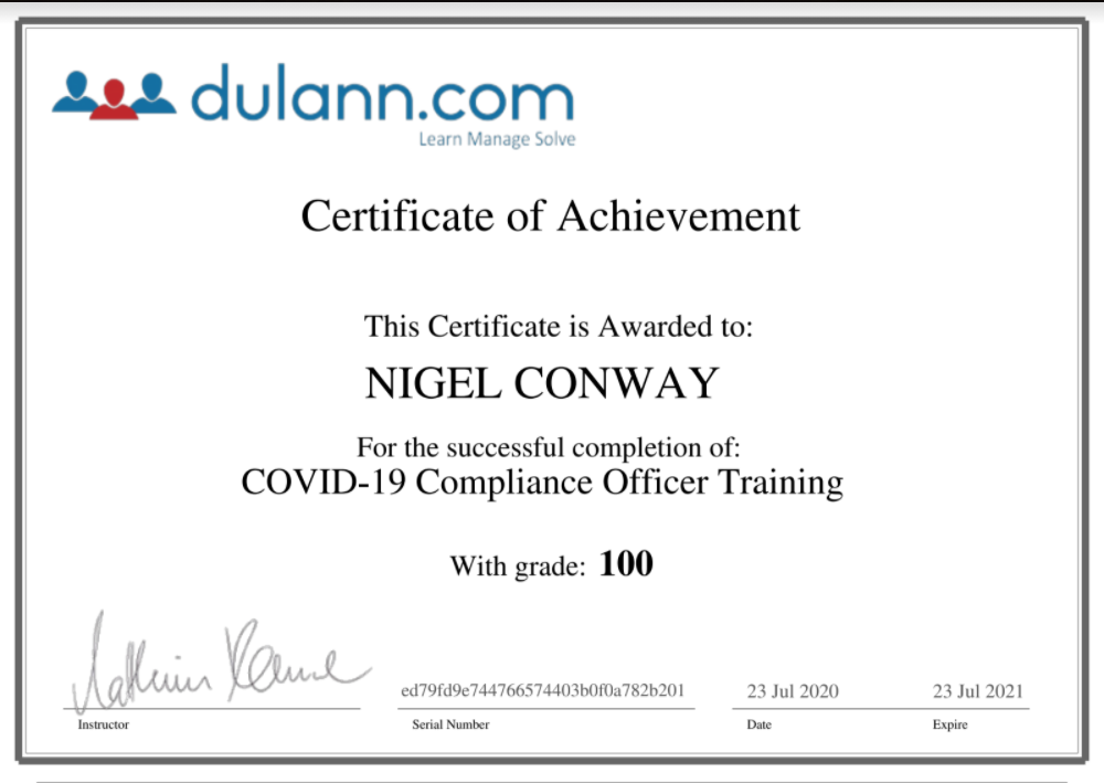 Covid19Cert-NigelConway